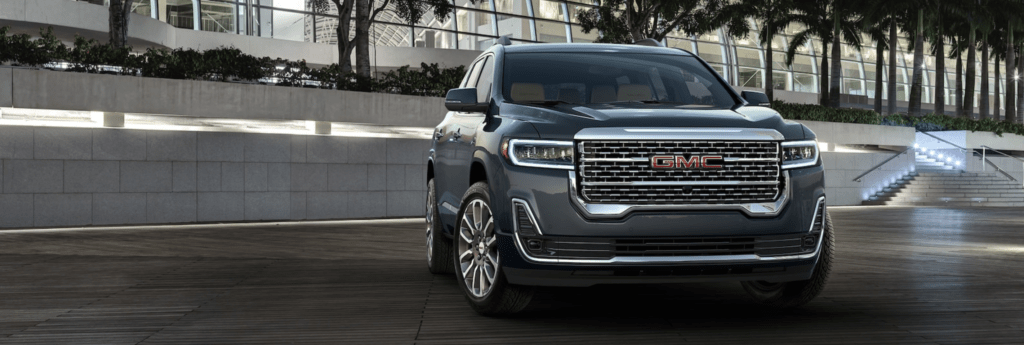 Introducing the 2020 GMC Acadia