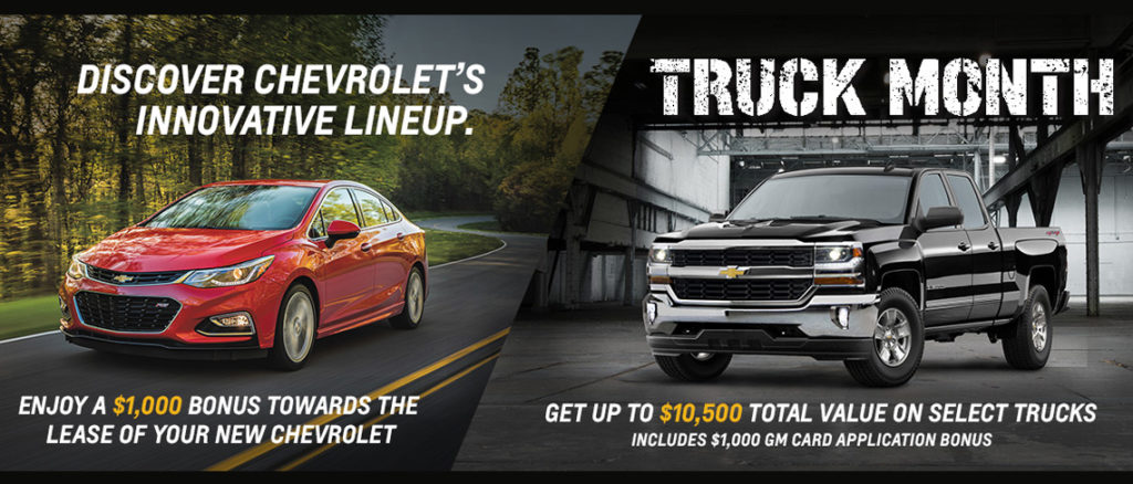 March Chevrolet Offer
