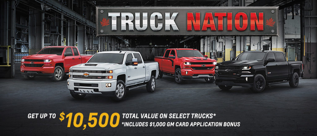 May Truck Nation Offer