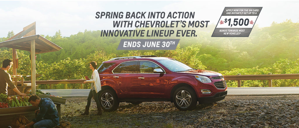 June Chevrolet Offer