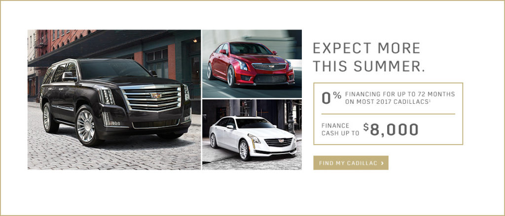 July Cadillac Offer