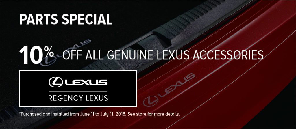 Regency Lexus parts special