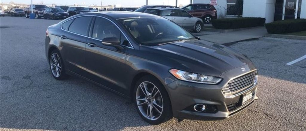 2015 Ford Fusion TiAWD
