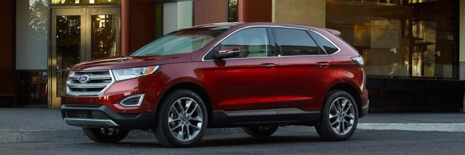 2018 Ford Edge parked