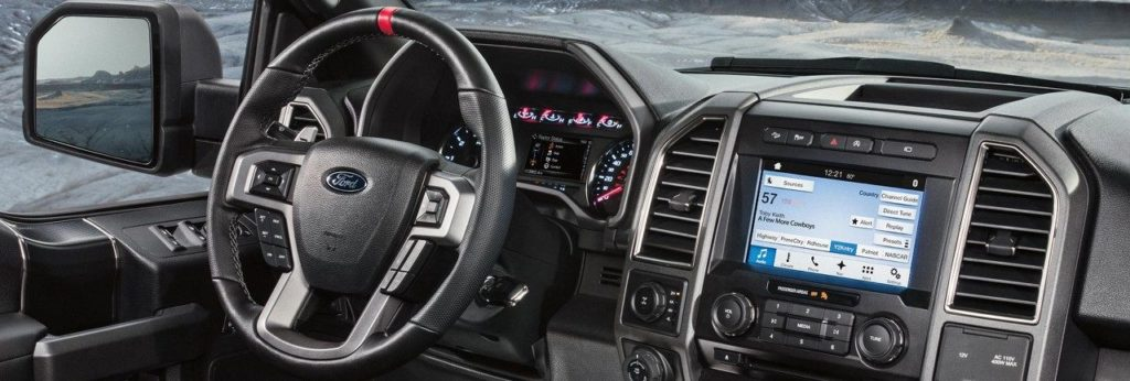 2018 Ford F-150 at Lally Ford dash