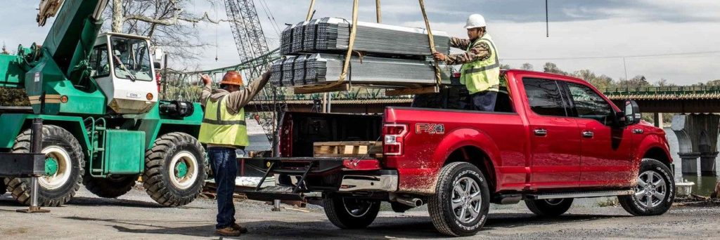 2018 Ford F-150 at Lally Ford aluminum frame