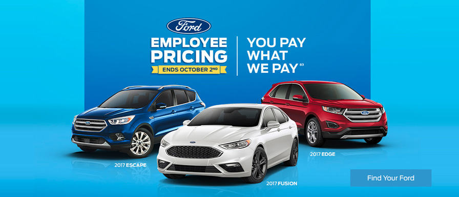 September Ford vehicle offer