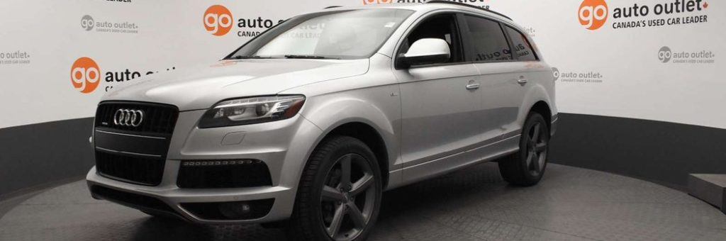 2014 Audi Q4 in silver at Go Auto Outlet showroom