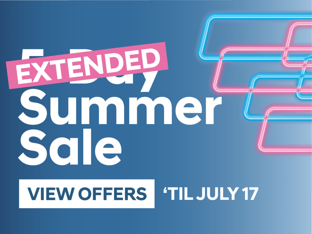 5-day Summer Sale
