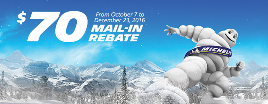 Michelin Rebate 2016