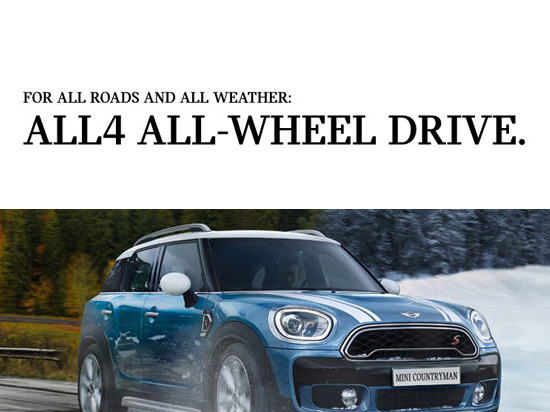 MINI all wheel drive