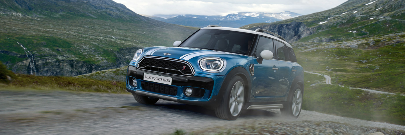 MINI Countryman S ALL4 driving off-road