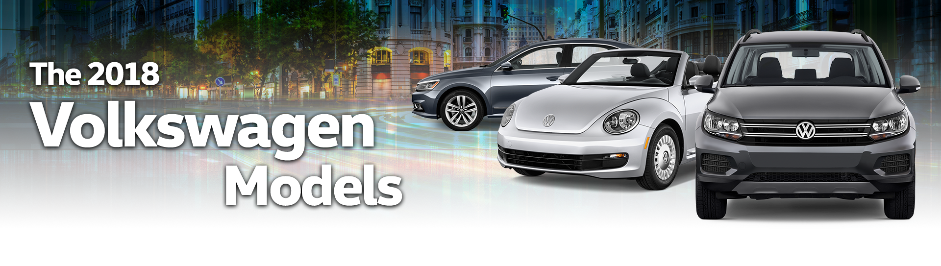The 2018 Volkswagen Models at Jim Sampson Motors
