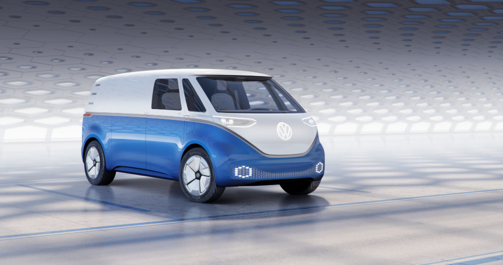 VW I.D. Buzz en version cargo