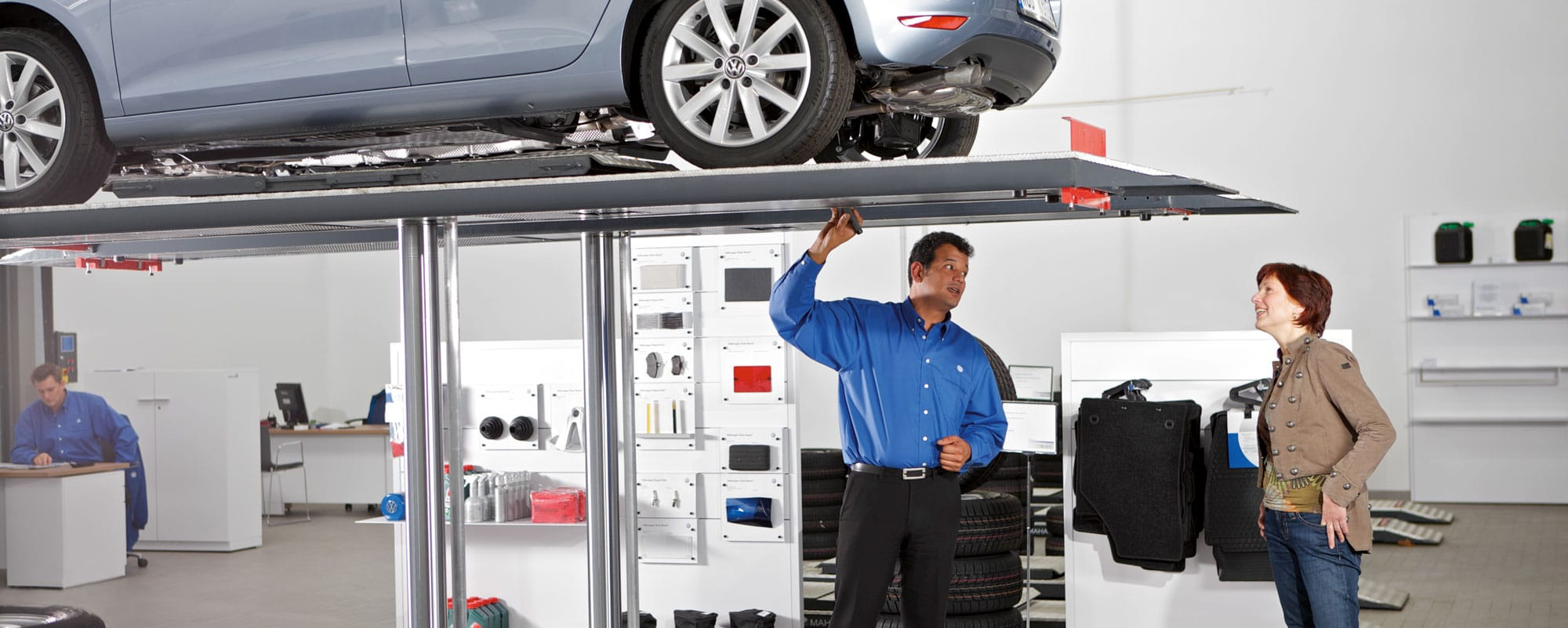 Volkswagen Vehicle Inspection Hero