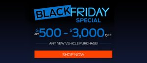 Black Friday Special for Mosher Motors Ford