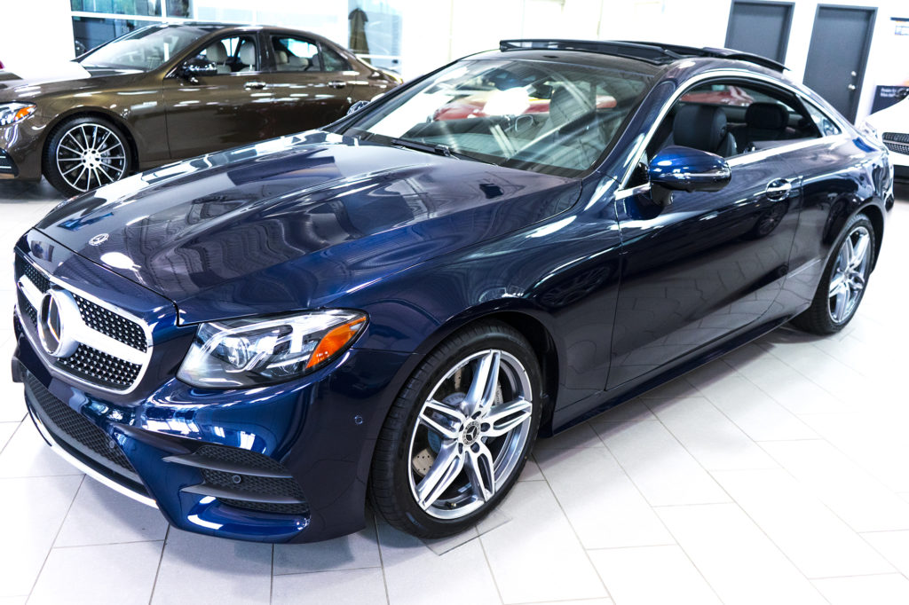 2018 Mercedes Benz E Class Coupe At Mercedes Benz Calgary