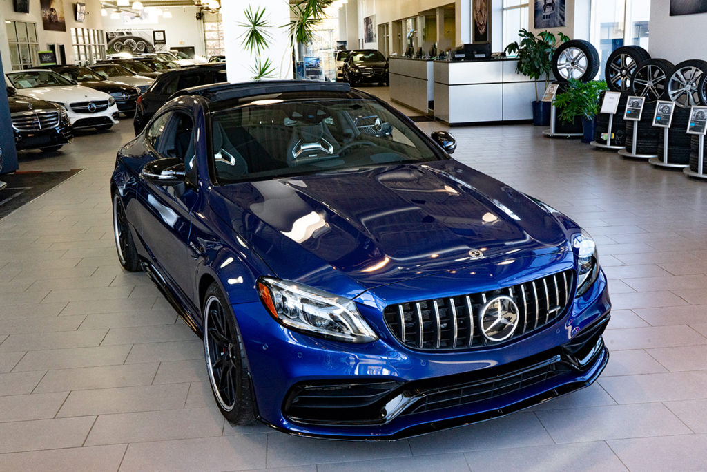 AMG C 63 S Coupe