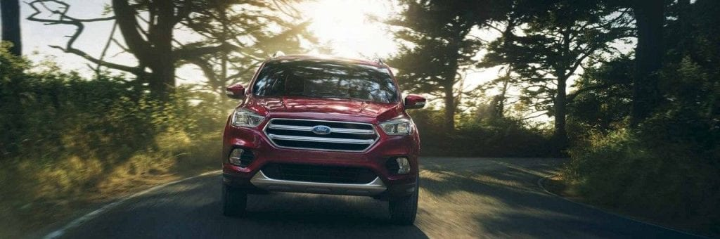 2018 Ford escape driving down country road