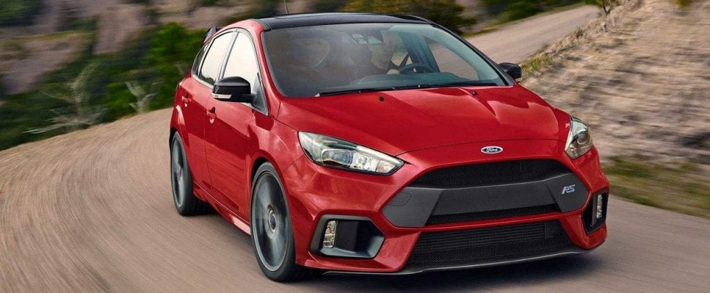 2018 Ford Focus RS Driving on Road