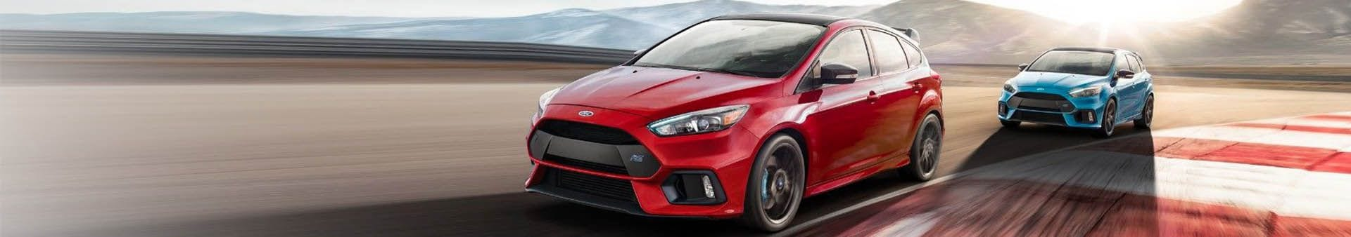 Ford Focus RS 2018 on Racetrack