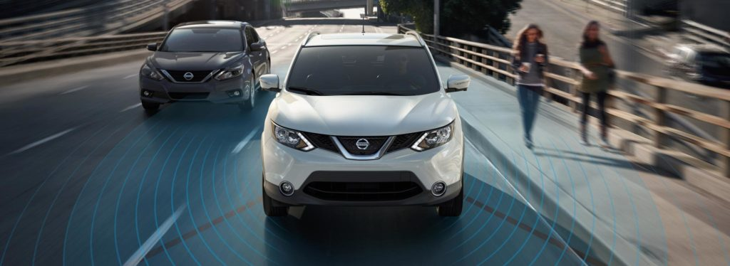 nissan vehicle with intelligent mobility