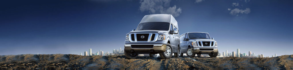 two versions of the 2019 nissan nv cargo van