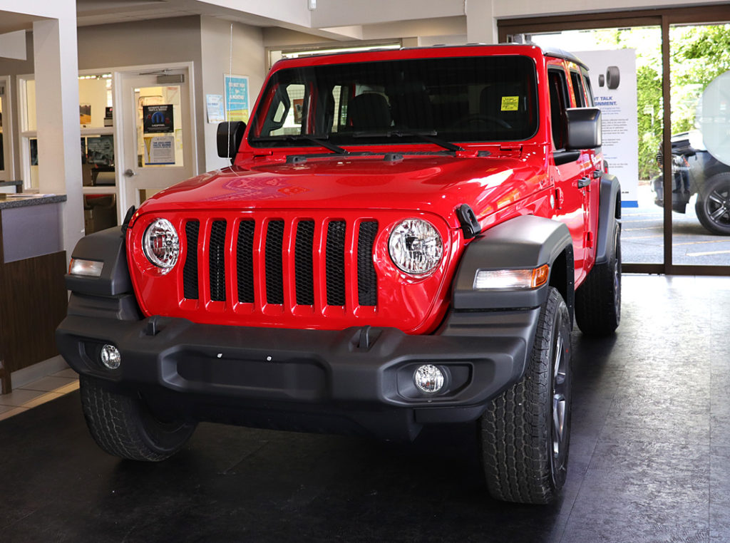 2018 jeep wrangler at Go Dodge Surrey dealership