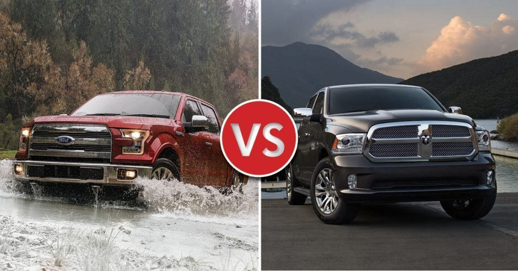 F-150 vs RAM 1500: Why the F-150 is a Better Buy