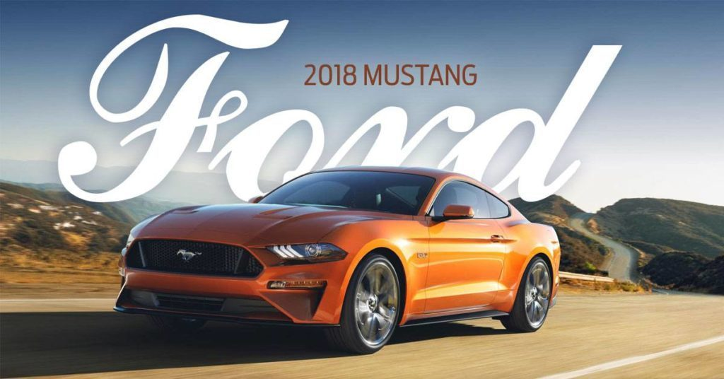 Say Hello to the Redesigned 2018 Mustang, Edmonton