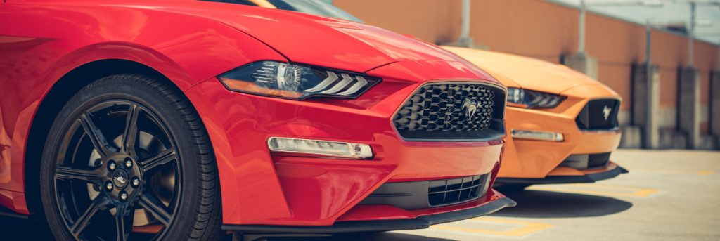 2019 Mustang front bumper and grille