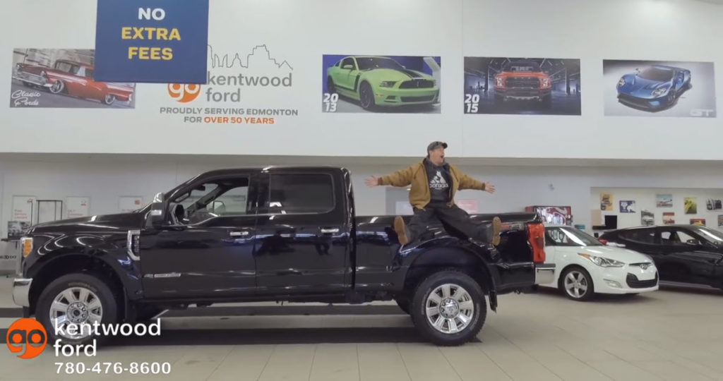 Check out K97's Pete Potipcoe in our 2019 F-350 King Ranch®