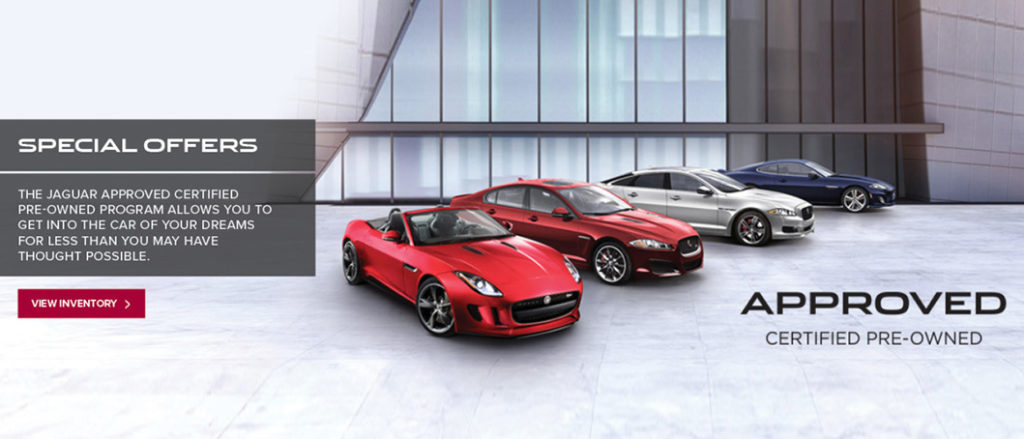 Special Offers - Jaguar London