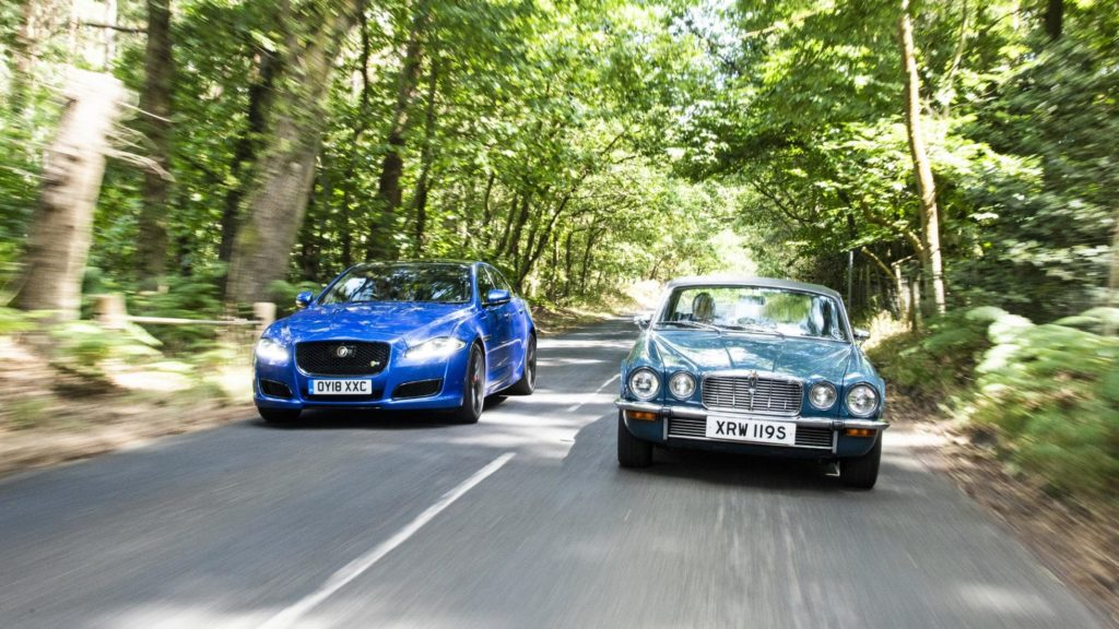 Progress report: Jaguar XJR575 vs classic Jaguar XJ C