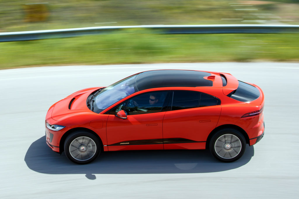 Best electric cars: Jaguar I-PACE
