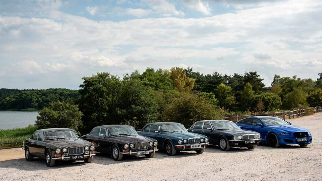 Big cat diaries: We celebrate 50 years of the Jaguar XJ