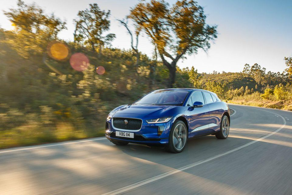Jaguar's I-Pace juices electric vehicle market