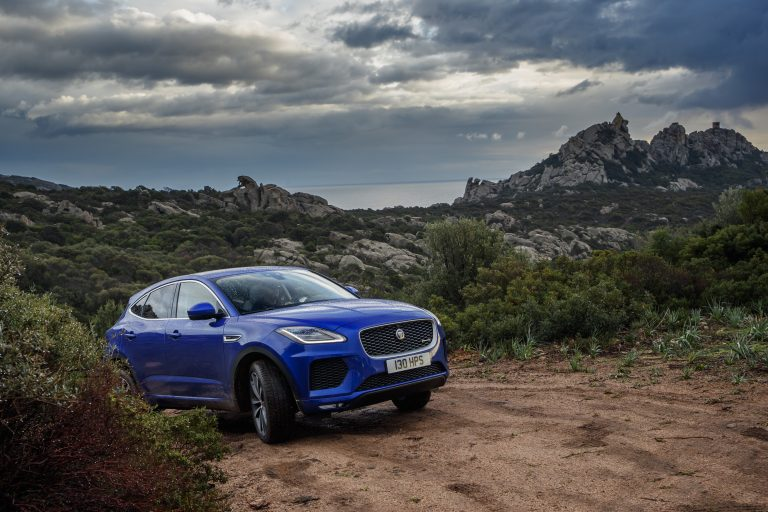 2018 Jaguar E-PACE: How does Jaguar's new crossover handle Gold Mine Hill?