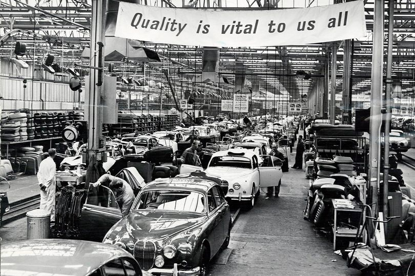 Jaguar: Coventry car makers that's still going