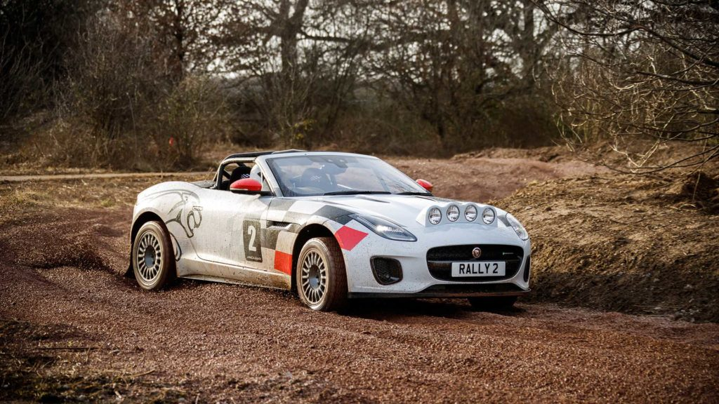 First drive: Jaguar F-TYPE Rally