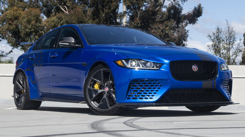 What do you want to know about the absurdly powerful Jaguar XE SV Project 8?
