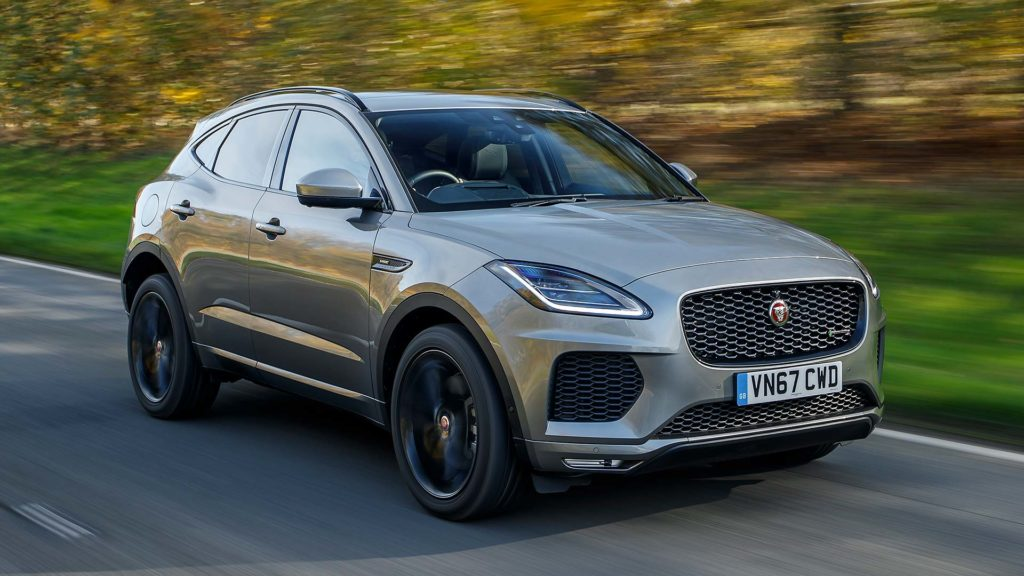 Jaguar UK sales boom thanks to E-PACE SUV
