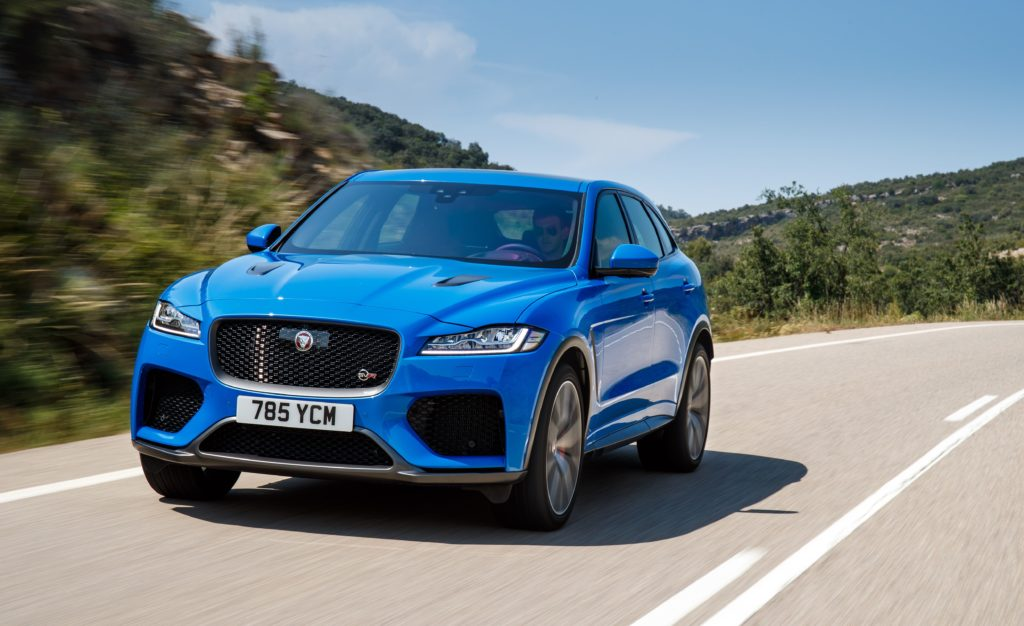 The 2019 Jaguar F-PACE SVR is fast without being feral