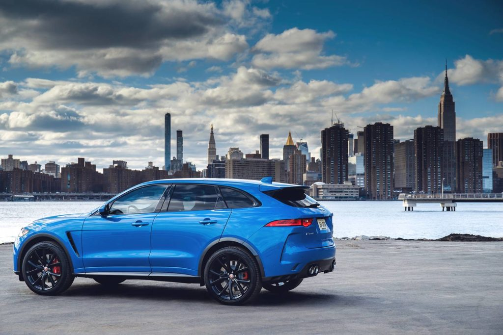 Jaguar F-PACE SVR is the best of all worlds