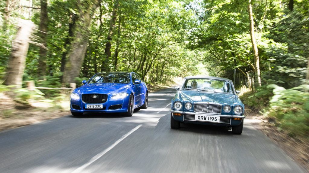 Progress report: Jaguar XJR vs Jaguar XJ C