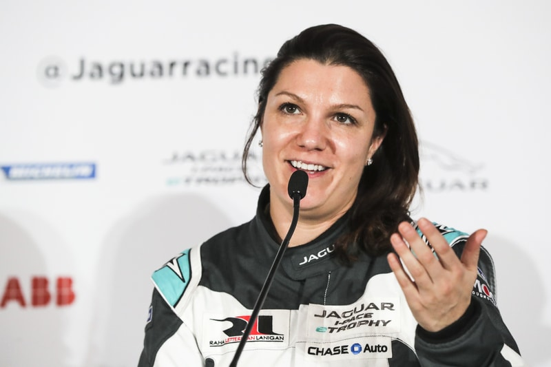 Katherine Legge: Exclusive Jaguar I-PACE eTROPHY interview