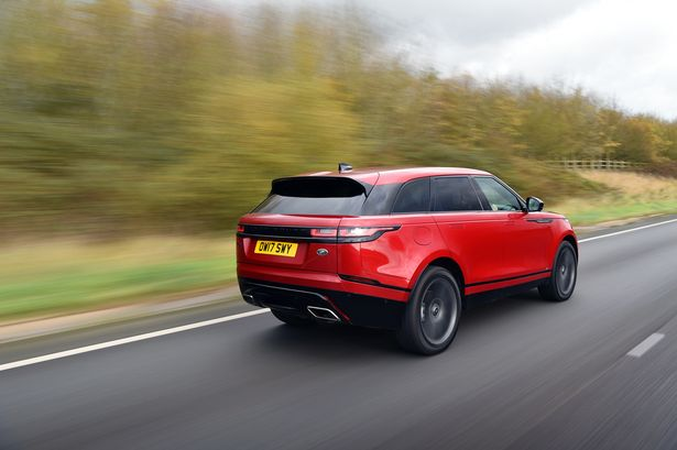 Mid-sized luxury Range Rover Velar