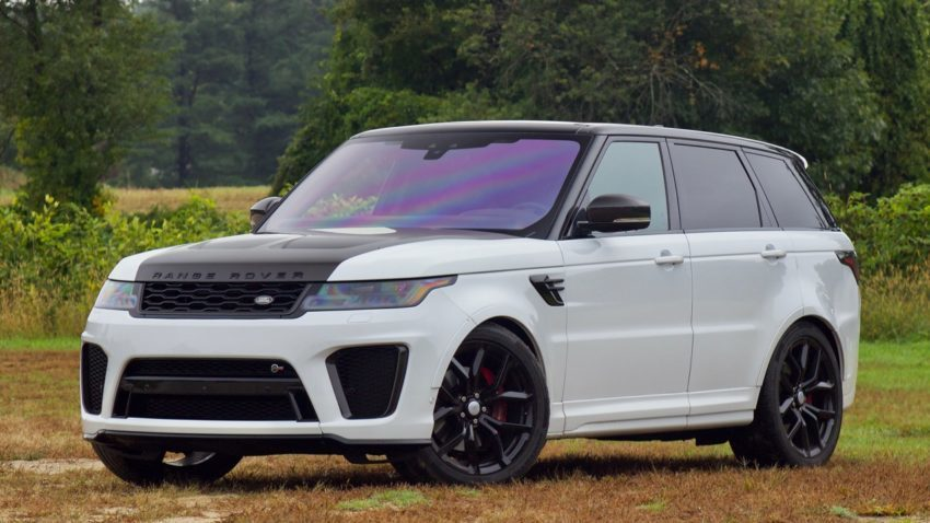 The 2019 Range Rover Sport SVR packs performance into a high-end SUV