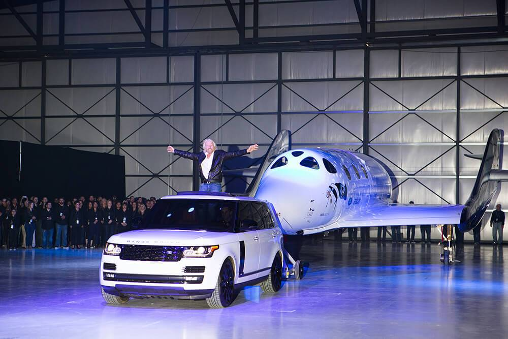 The ultimate adventure': Virgin Galactic works with Land Rover