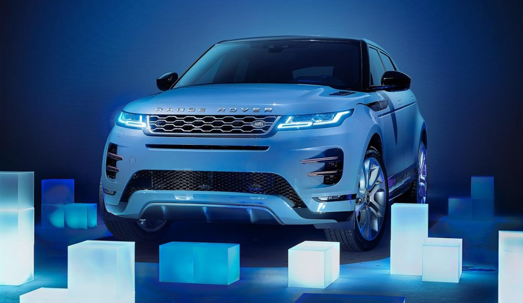 Ice-cool Range Rover Evoque
